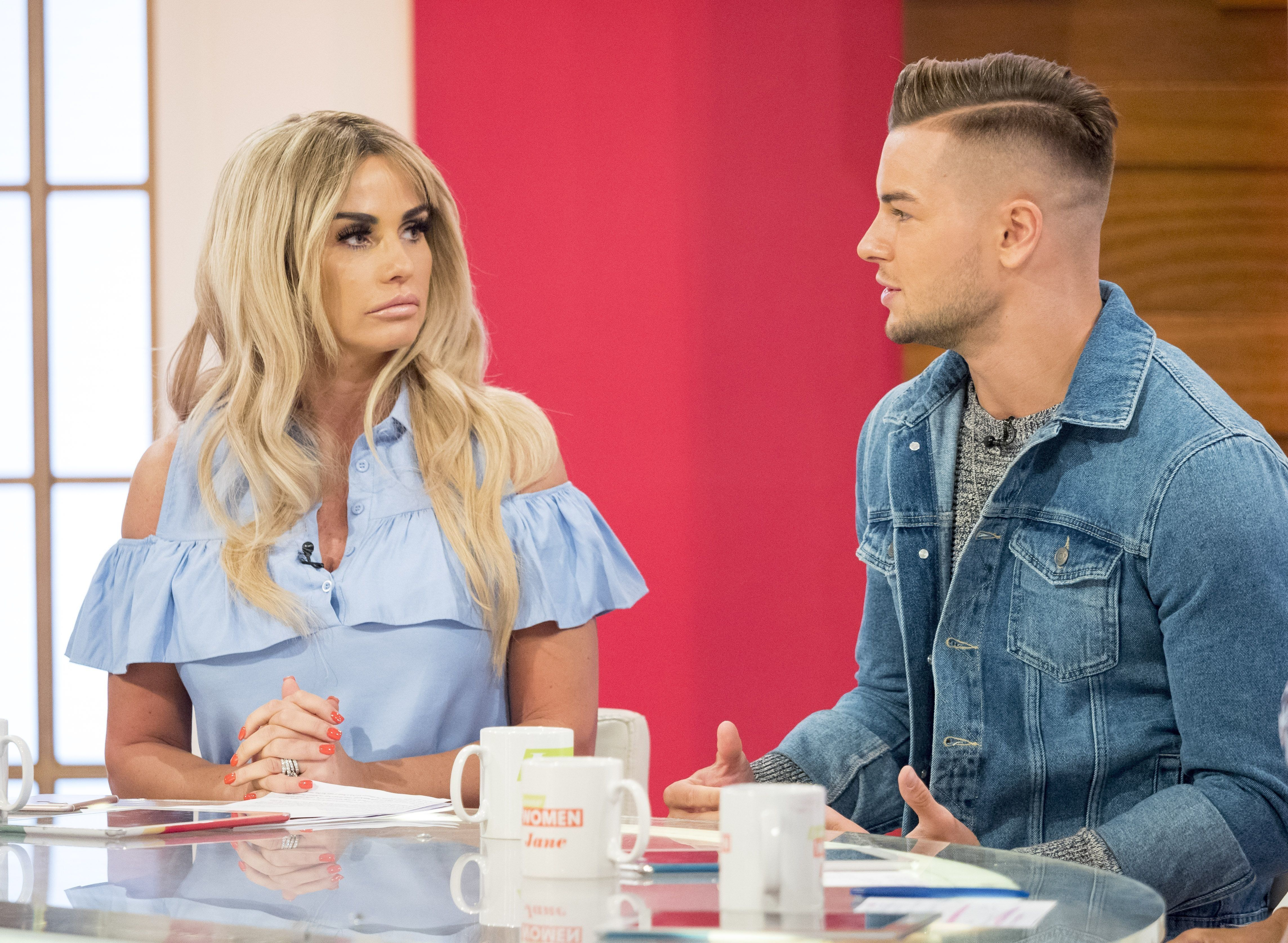 Katie Price Branded 'Rotten Piece Of S***' By 'Love Island's Chris Hughes In Furious Twitter