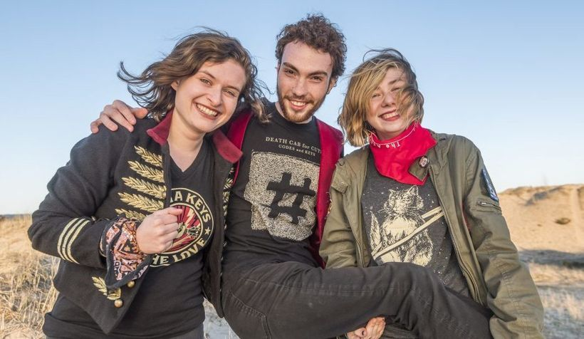 The Accidentals (from left): Katie Larson, Michael Dause and Sav Buist.