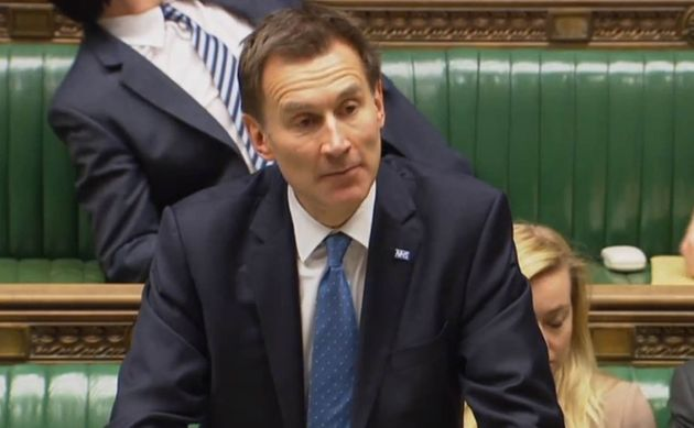 Jeremy Hunt said the ID checks and charges would ensure overseas visitors would make a 'fair contribution'...
