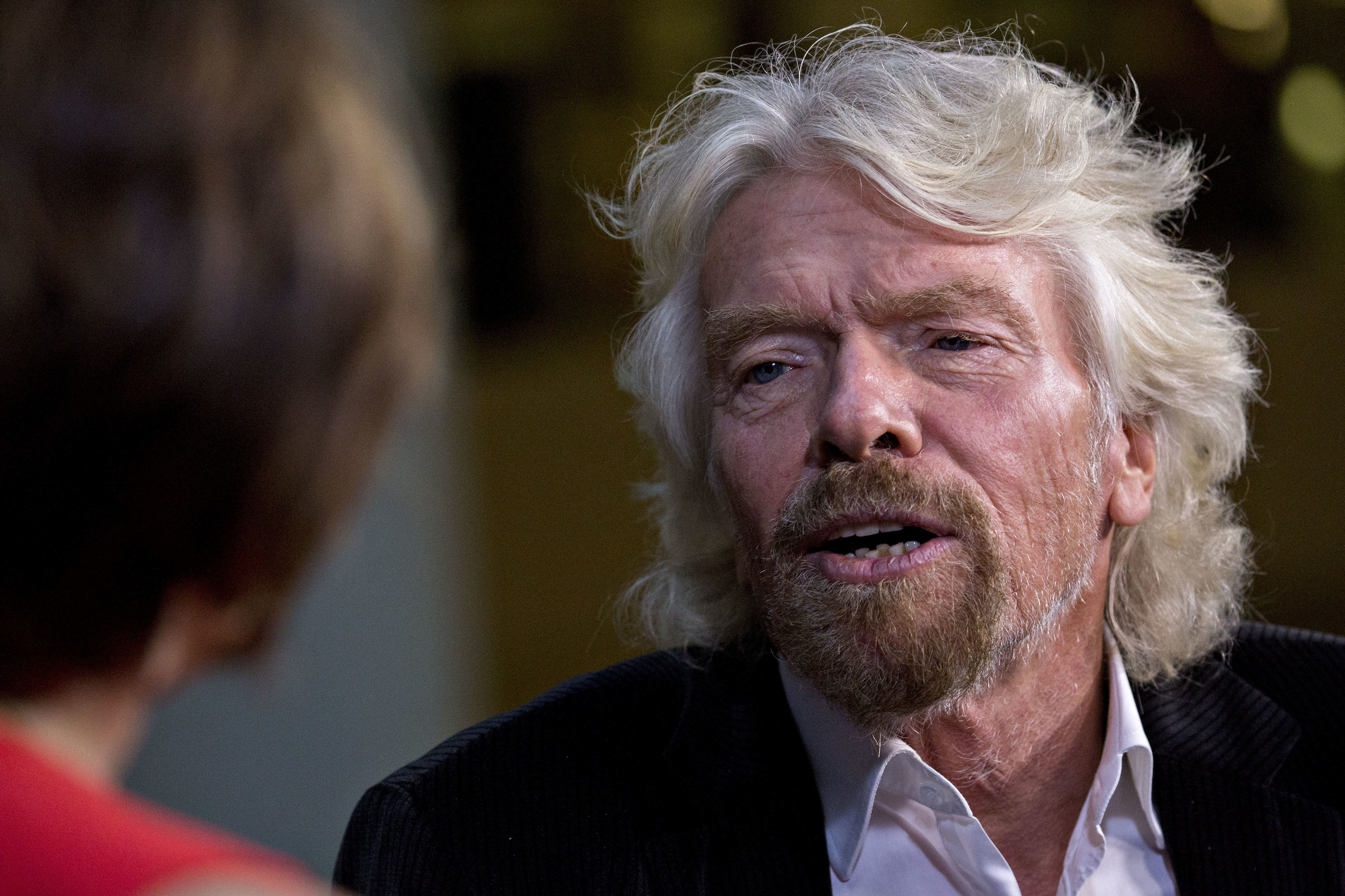 Richard Branson, founder and president of Virgin Atlantic Airways, has revealed that he was targeted by a fraudster who tried