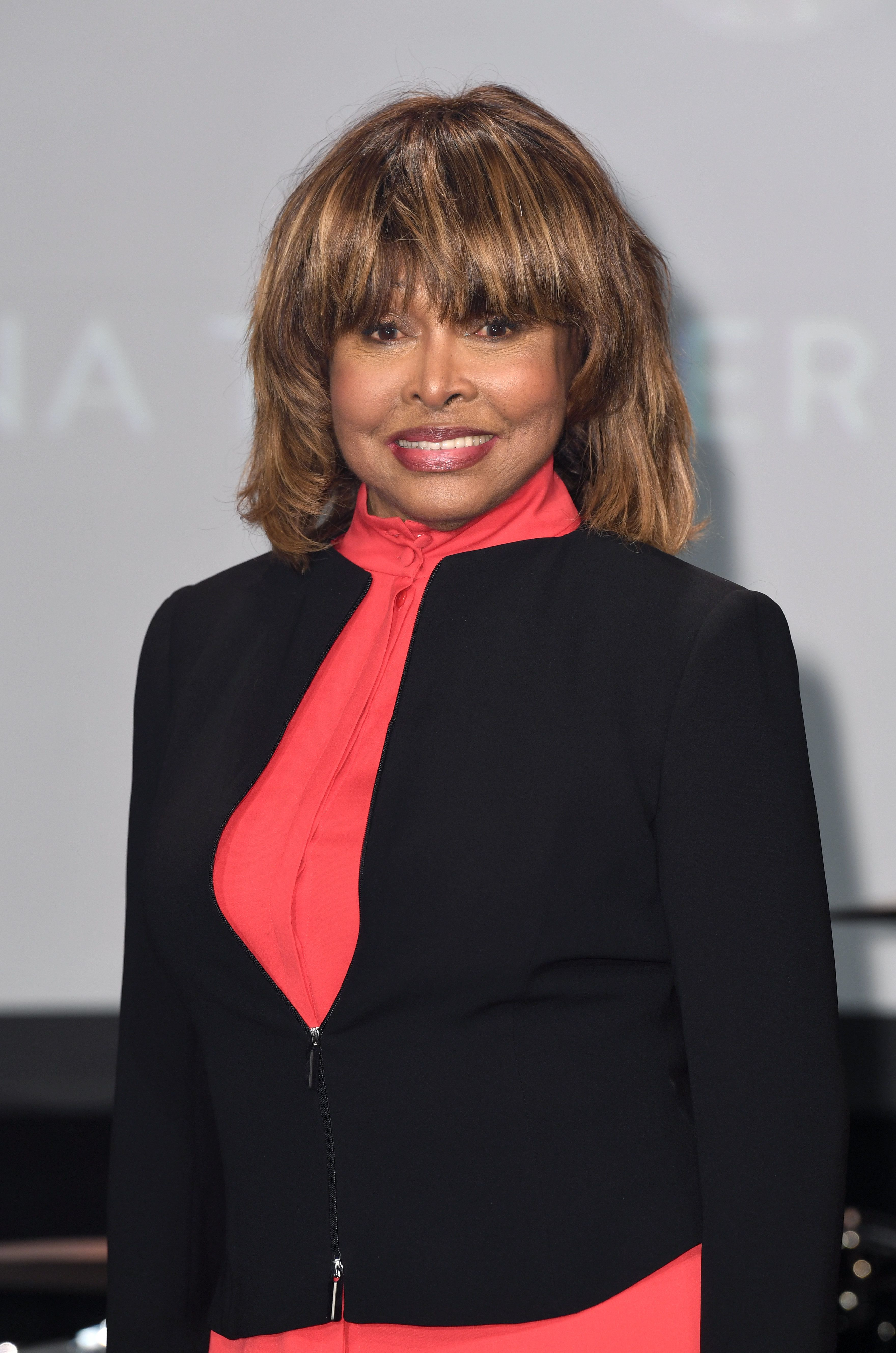 Tina Turner Makes Rare Public Appearance As She Launches West End Musical About Her Life