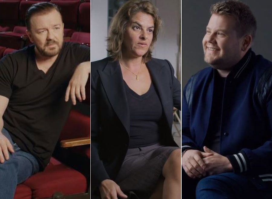 Ricky Gervais, Tracey Emin and James Corden all became good friends with