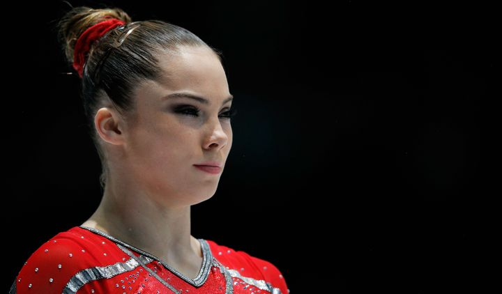 McKayla Maroney of USA gets ready to compete in the Women's Vault Qualification on Day Three of the Artistic Gymnastics World