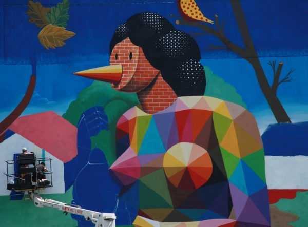 street art s tropical spray into tahiti ono u murals wow huffpost