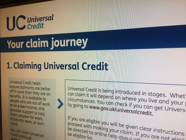 People on Universal Credit are having their benefit cut to pay back outstanding