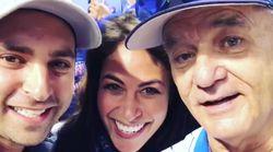 Bill Murray 'se cuela' en el anuncio de embarazo de esta