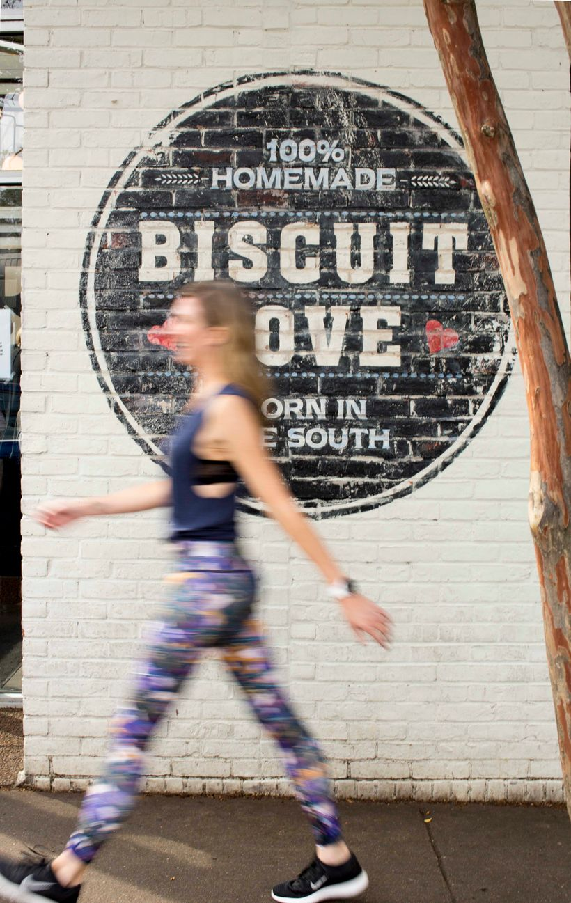 Sneaking into Biscuit Love for a half-dozen biscuits to go