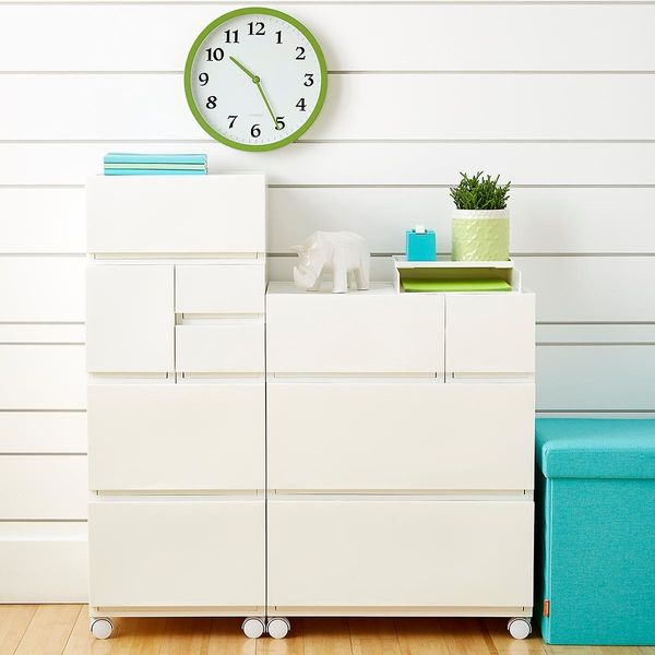 """If you're in need of simplistic and practical furniture, <a href=""""https://www.containerstore.com"""" target=""""_blank"""">The Contain"""