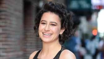 NEW YORK, NY - JUNE 14:  Actress Ilana Glazer enters the 'The Late Show With Stephen Colbert' taping at the Ed Sullivan Theater on June 14, 2017 in New York City.  (Photo by Ray Tamarra/GC Images)