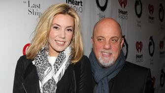 NEW YORK, NY - OCTOBER 26:  Alexis Roderick and Billy Joel pose at The Opening Night of 'The Last Ship' on Broadway at The Neil Simon Theatre on October 26, 2014 in New York City.  (Photo by Bruce Glikas/FilmMagic)