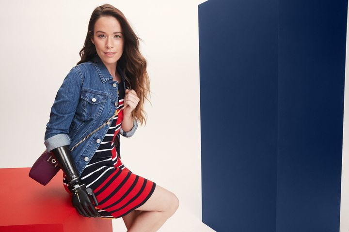 A look from Tommy HIlfiger's adaptive collection.