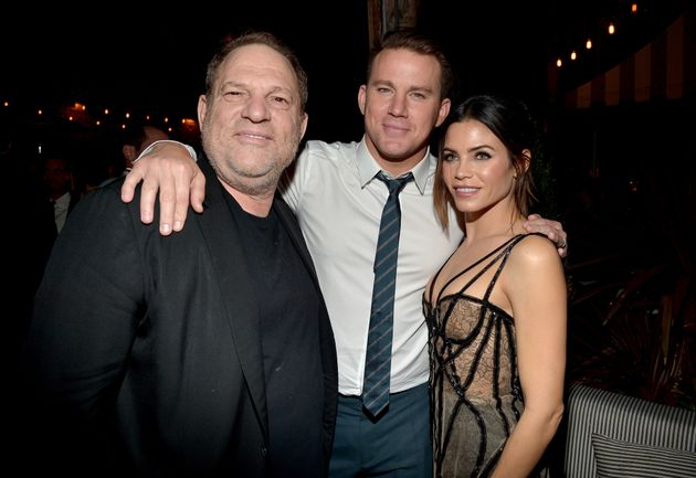 Harvey Weinstein, Channing Tatum and Jenna Dewan at the