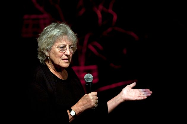 Germaine Greer was initially barred from speaking at Cardiff University in 2016 prompting a free speech