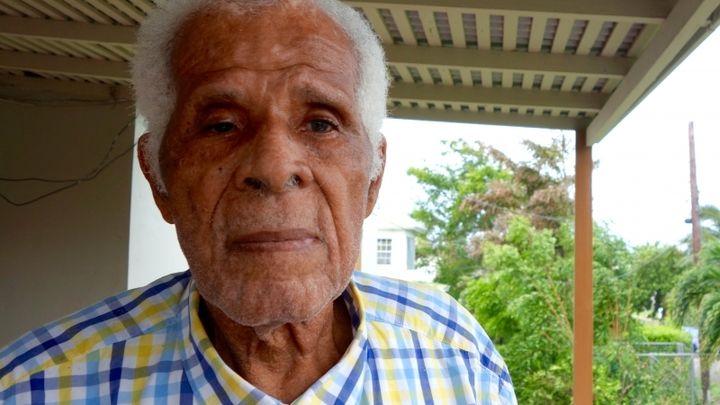 Hilbourne Frank, veteran Barbuda leader