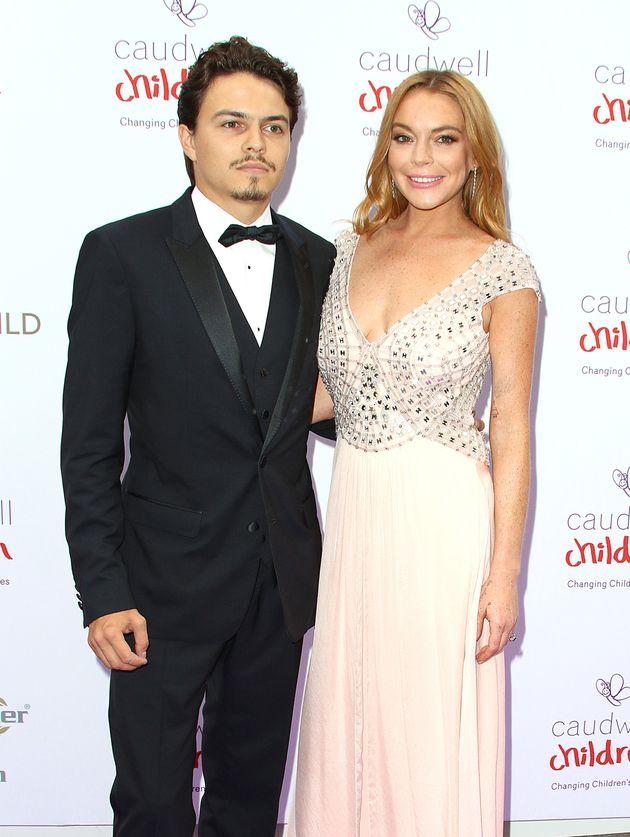Lindsay Lohan and Egor Tarabasov pictured together in