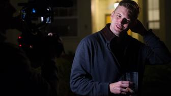 Richard Spencer speaks during an interview with HuffPost in a remote location outside Gainesville, Florida on Wednesday, October 18, 2017.