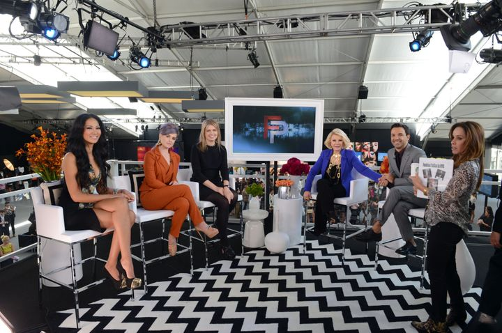 "The ""Fashion Police"" hosts in 2013."