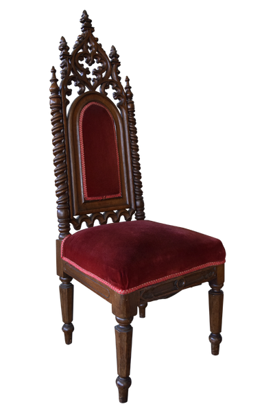 Vintage Gothic-Style Hall Chair - Look We Love: Gothic-Chic Furniture And Accessories HuffPost