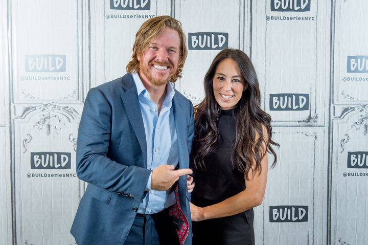 Chip and Joanna Gaines discuss 'Capital Gaines: Smart Things I Learned Doing Stupid Stuff' and the ending of the show 'Fixer Upper' with the Build Series at Build Studio on October 18, 2017 in New York City.