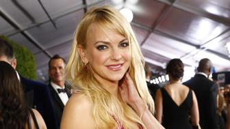 LOS ANGELES - SEPTEMBER 17: Anna Faris of MOM at the 69TH PRIMETIME EMMY AWARDS, LIVE from the Microsoft Theater in Los Angeles Sunday, Sept. 17 (8:00-11:00 PM, live ET/5:00-8:00 PM live PT) on the CBS Television Network.  (Photo by Trae Patton/CBS via Getty Images)