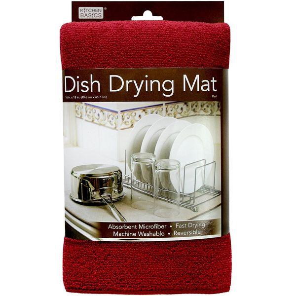 "<a href=""https://www.amazon.com/Kitchen-Basics-Dish-Drying-Mat/dp/B00M3ZYZOW/?tag=thehuffingtop-20"" target=""_blank"">Keep it u"