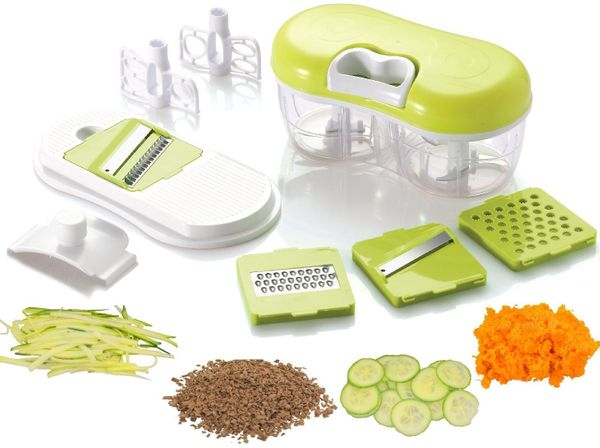 "It chops, blends, grates, slices, purees <a href=""https://www.amazon.com/Brieftons-QuickPull-Food-Chopper-Vegetables/dp/B01GZ"