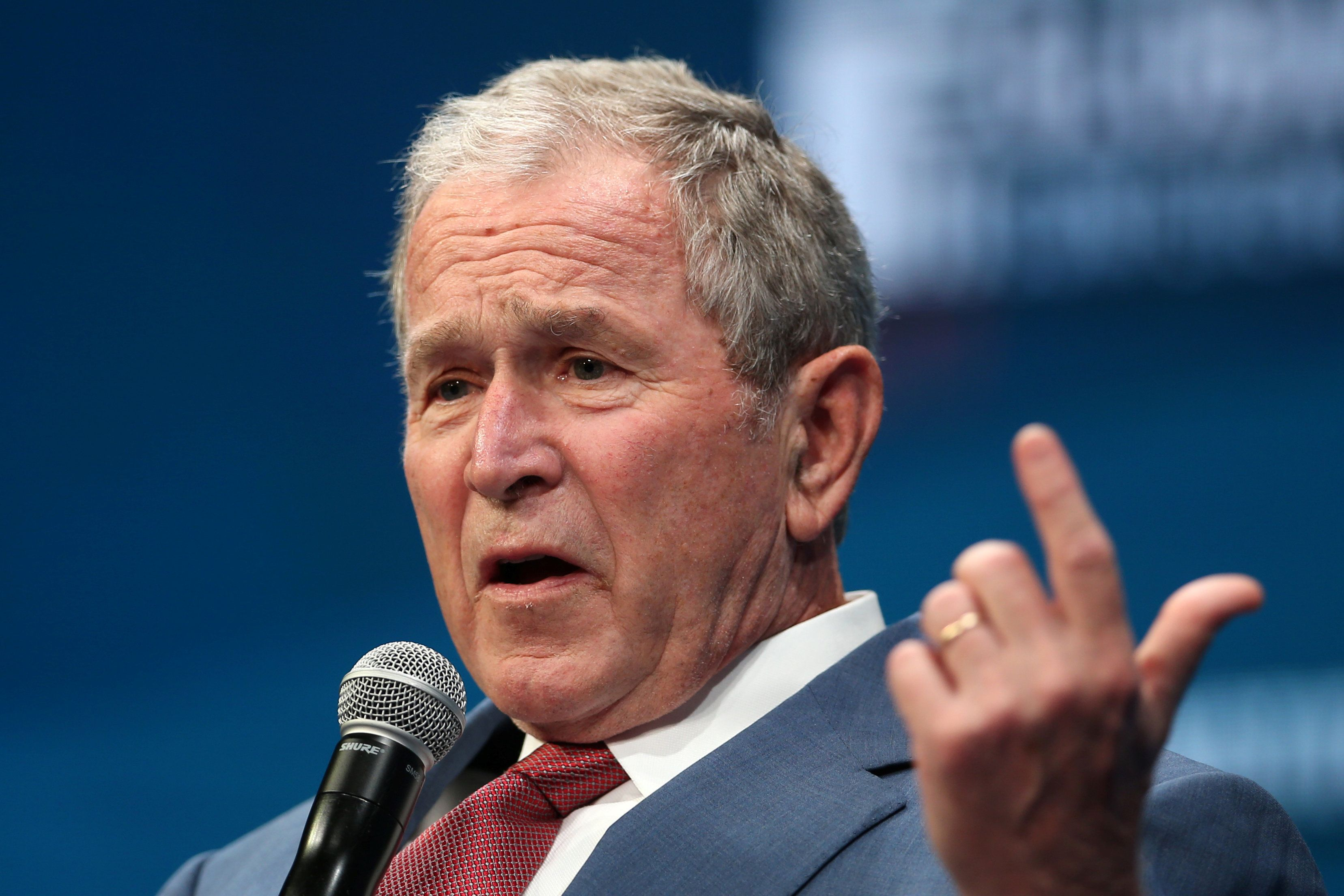 George W. Bush Condemns Trumpism, But Skips His Role In Its