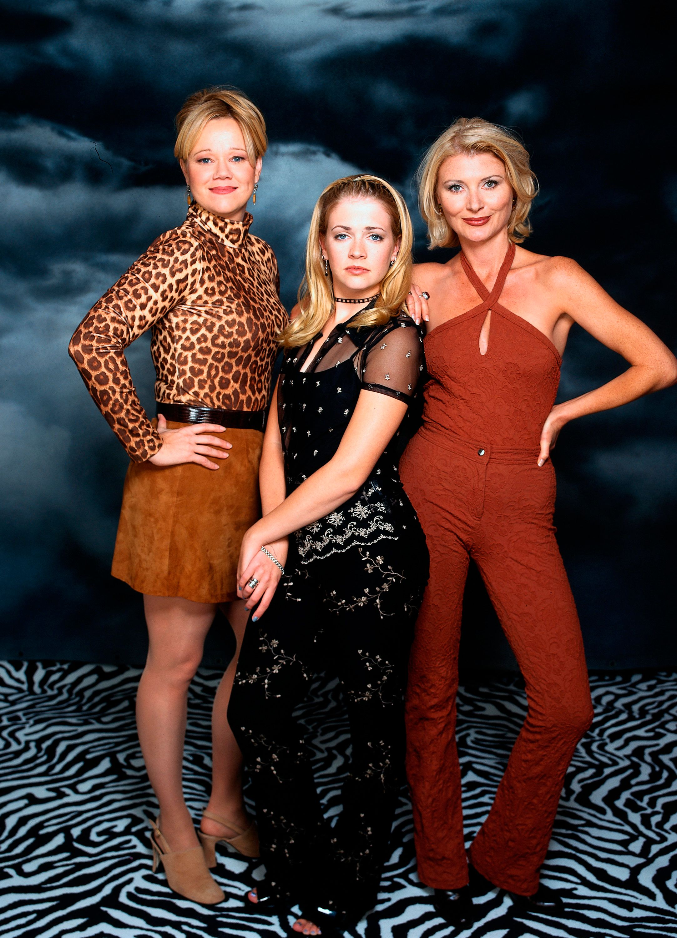 UNITED STATES - DECEMBER 09:  SABRINA, THE TEENAGE WITCH - 'GALLERY' - 8/10/97, Melissa Joan Hart (as Sabrina Spellman), a perfectly normal 16-year-old, is informed by her aunts, Caroline Rhea (as Hilda) and Beth Broderick (as Zelda), that she (and they, and her whole family on her father's side) are witches. She lives with them in Massachusetts while preparing to receive her witch's license. Along the way, she gets into many scrapes while figuring out how certain spells work.,  (Photo by Bob D'Amico/ABC via Getty Images)