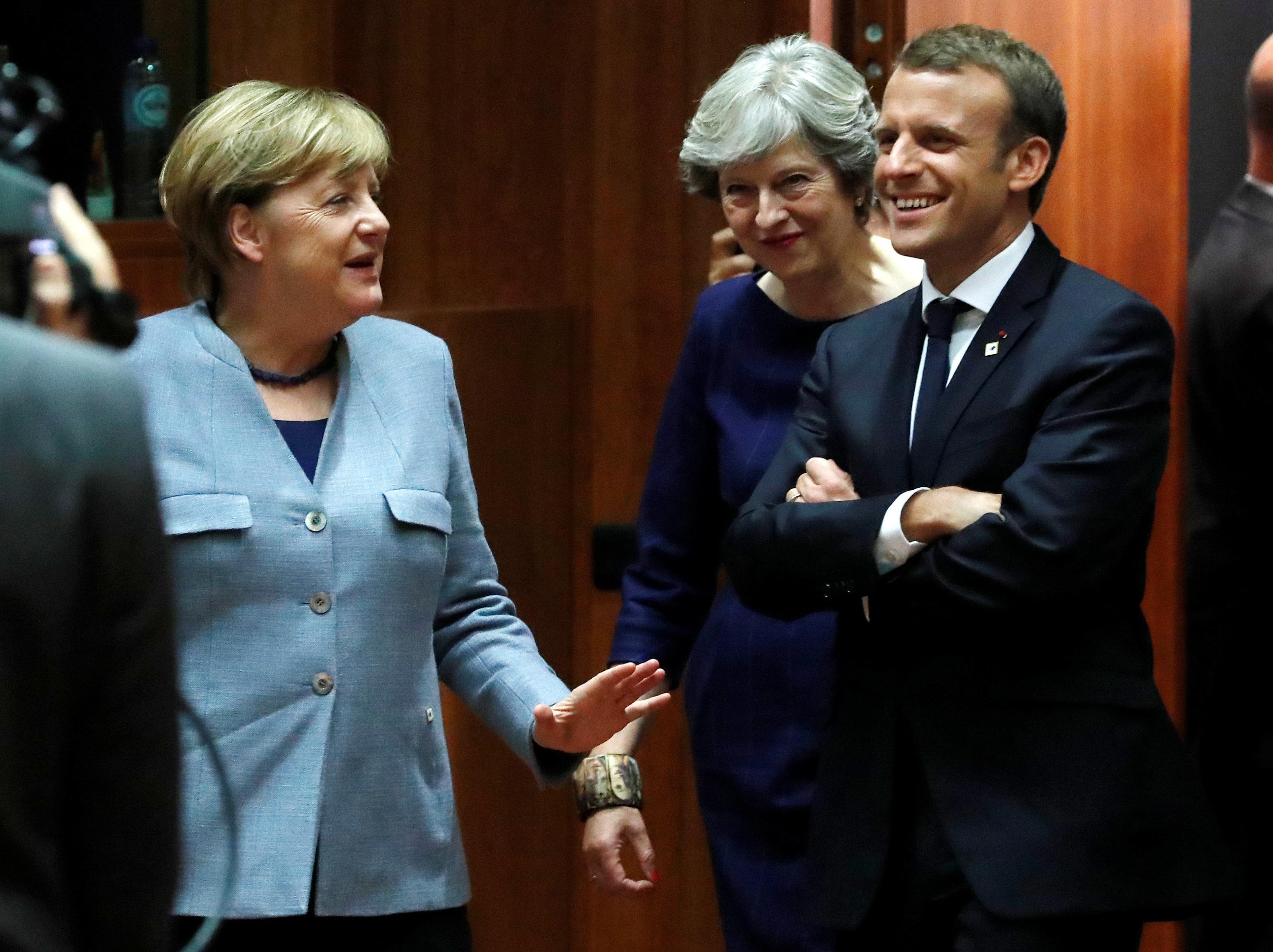 Angela Merkel Raises Hopes Trade Talks Could Start In