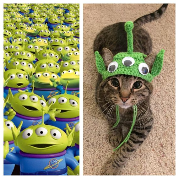 """<a href=""""https://www.etsy.com/listing/222989640/toy-story-alien-cat-costume"""" target=""""_blank"""">Get it here</a>."""