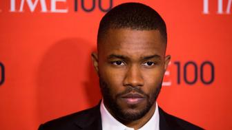 Musician Frank Ocean arrives at the Time 100 gala celebrating the magazine's naming of the 100 most influential people in the world for the past year, in New York April 29, 2014. REUTERS/Lucas Jackson (UNITED STATES - Tags: ENTERTAINMENT)