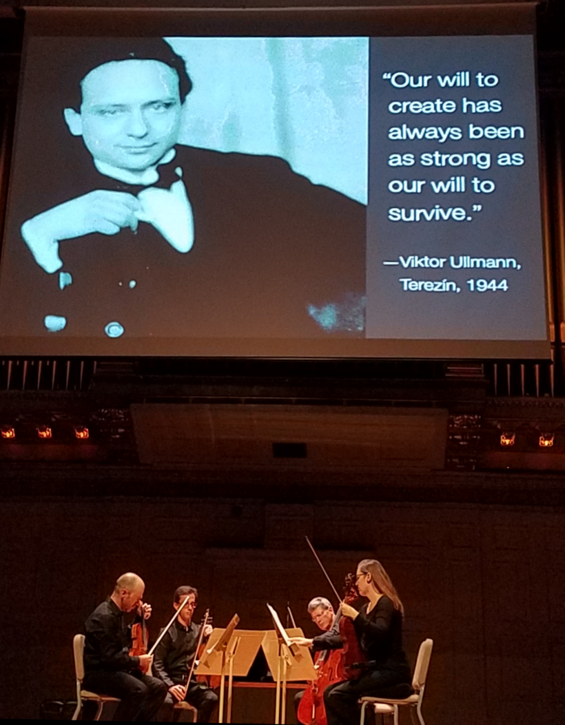 Members of the Boston Symphony Orchestra perform music by Holocaust victim Viktor Ullmann.