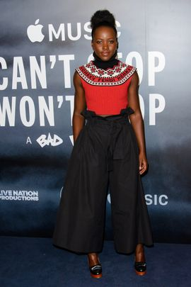 LONDON, ENGLAND - MAY 16: Lupita Nyong'o attends the London Screening of 'Can't Stop, Won't Stop: A Bad Boy Story' at The Curzon Mayfair on May 16, 2017 in London, England. (Photo by Joe Maher/Getty Images)