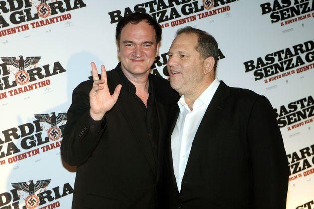 Tarantino with Weinstein in
