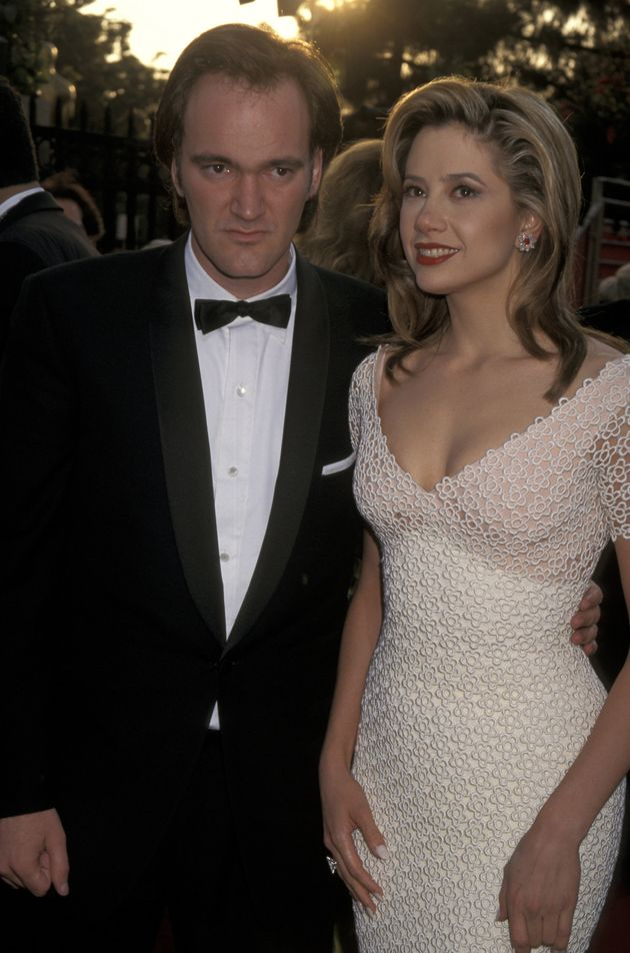 Tarantino with then-girlfriend Mira in