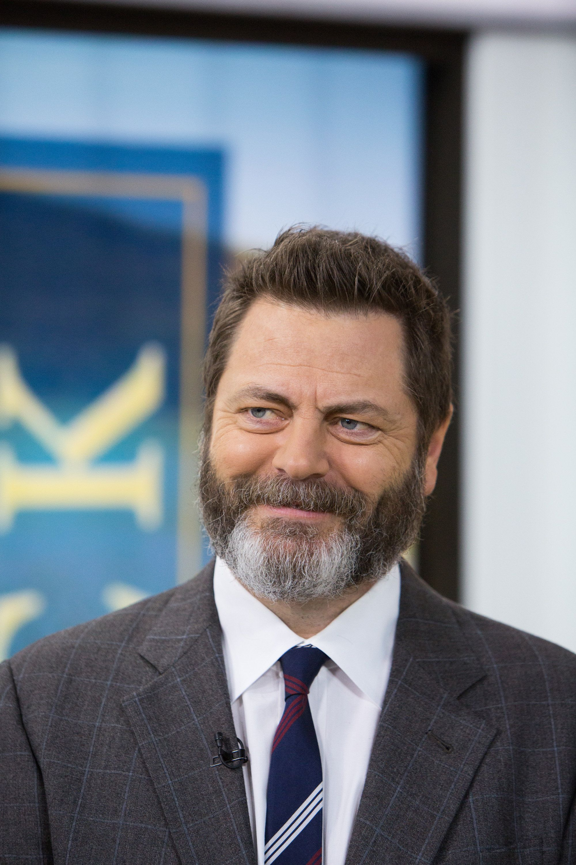 TODAY -- Pictured: Nick Offerman on Friday, June 30, 2017 -- (Photo by: Nathan Congleton/NBC/NBCU Photo Bank via Getty Images)
