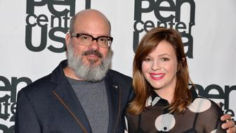 BEVERLY HILLS, CA - SEPTEMBER 28:  Writer/actor David Cross and actress Amber Tamblyn attend PEN Center USA's 26th Annual Literary Awards Festival honoring Isabel Allende at the Beverly Wilshire Four Seasons Hotel on September 28, 2016 in Beverly Hills, California.  (Photo by Michael Tullberg/Getty Images)