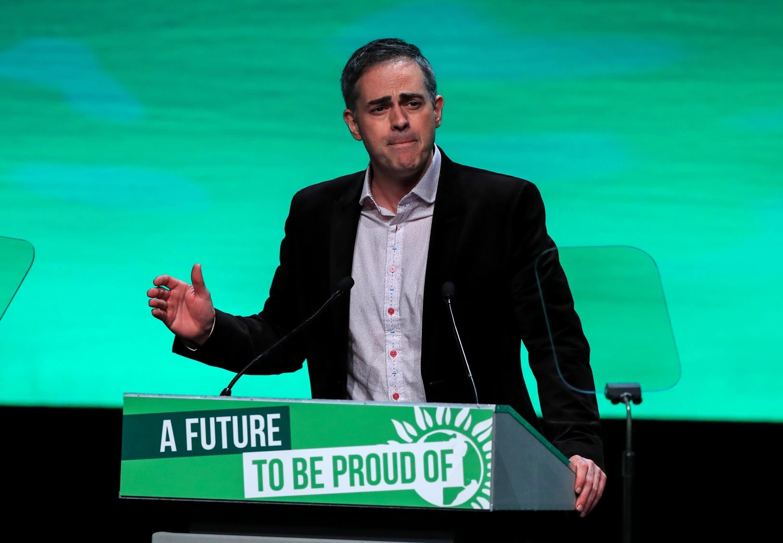 Green Party Leader Jonathan Bartley Says Air Pollution Is Becoming 'Most Urgent Global Crisis Of Our