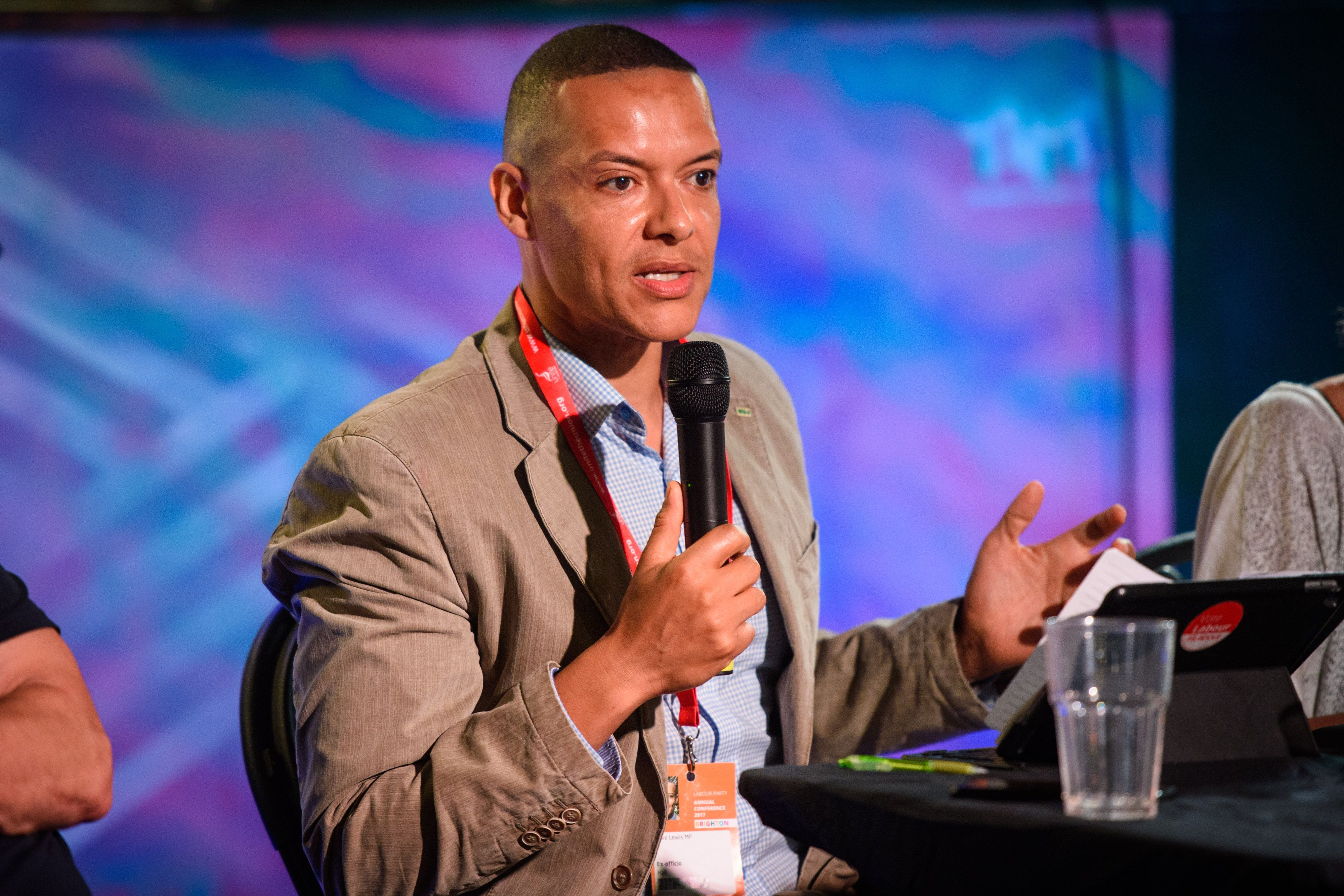 Clive Lewis Apologises Over
