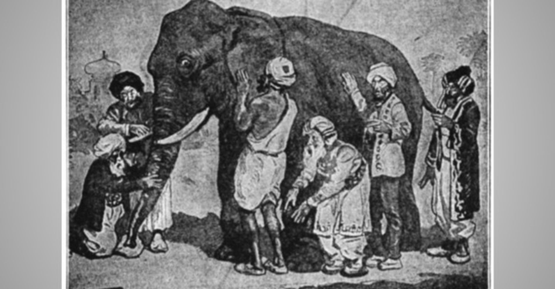 the blind men and the elephant - 746×546