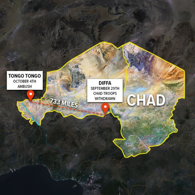 The pullout of Chadian troops happened on the opposite side of the country from where ISIS-affiliated...