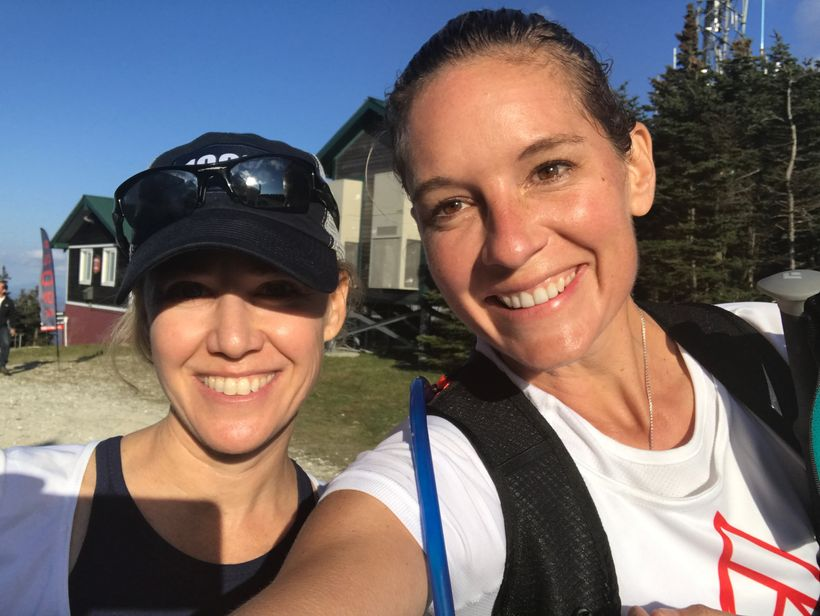 I did many of the climbs with my friend Lindsay - we were major supports for each other.