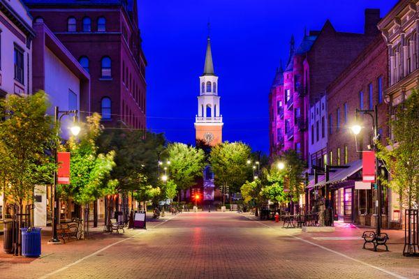 Vermont's largest city, Burlington, achieved 100 percent renewable electricity in 2014 when it bought a hydropower faci