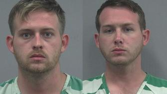 Tyler Tenbrink left Colton Fears center and William Fears were arrested and charged with attempted murder