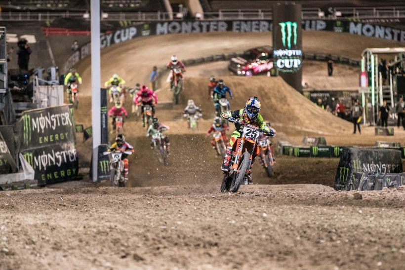 <strong>Aller!</strong> In the final of three races, Musquin did exactly what he needed to do: get a good start and win the d