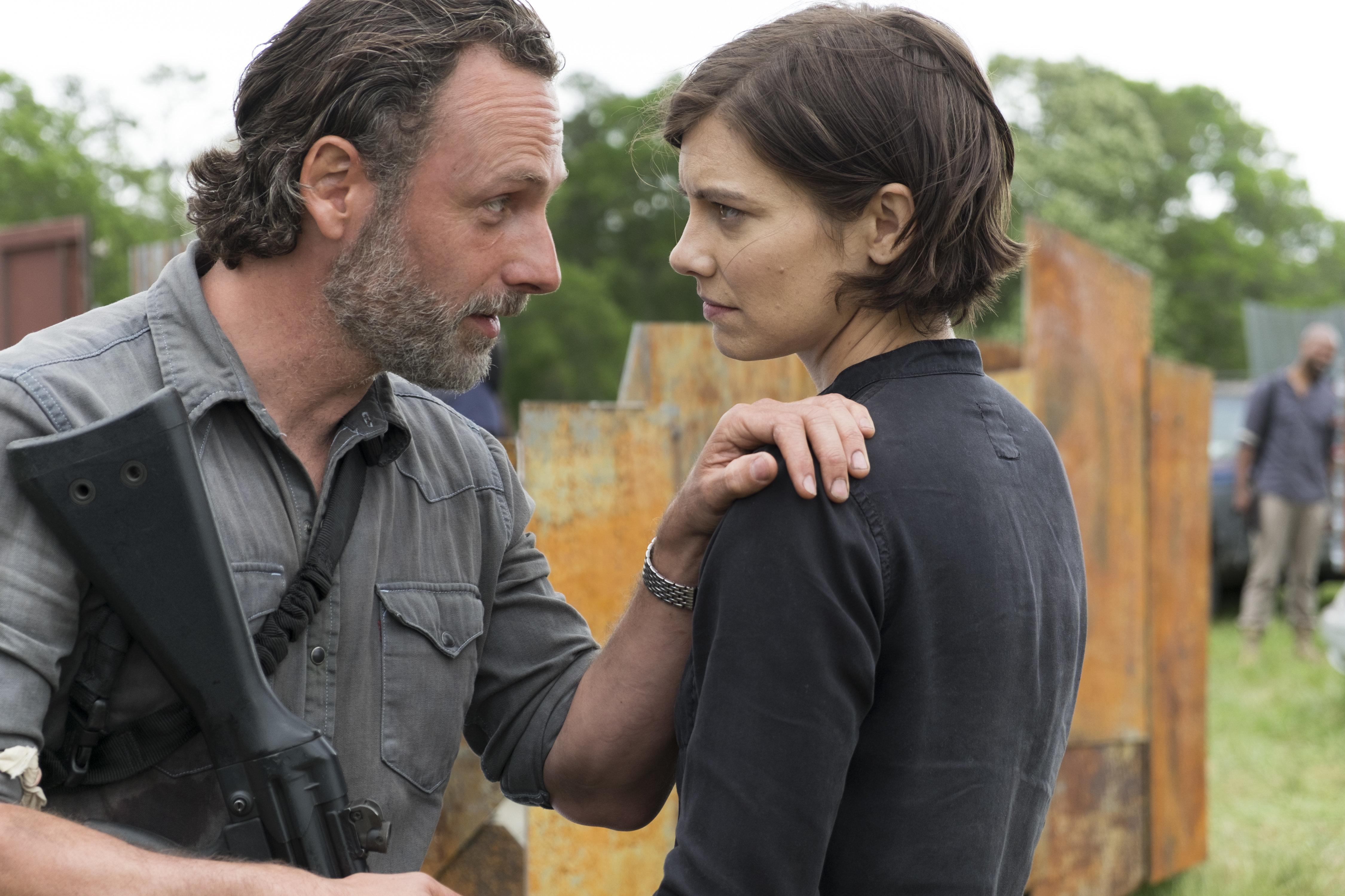 'The Walking Dead' Season 8 Premiere Leaves Burning