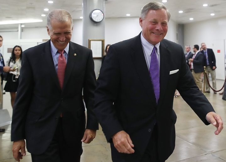 North Carolina Sens. Thom Tillis (R) and Richard Burr (R) are both supporting the confirmation of Thomas Farr to a U.S. Distr