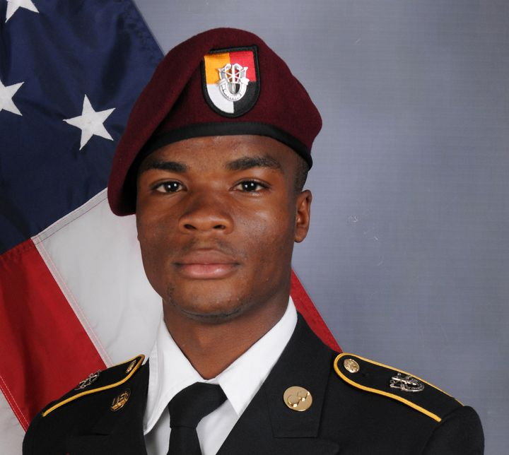 U.S. Army Sgt. La David Johnson, who was among four special forces service members killed in Niger, West Africa, on Oct.