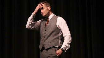 GAINESVILLE, FL - OCTOBER 19:  White nationalist Richard Spencer, who popularized the term 'alt-right' speaks at the Curtis M. Phillips Center for the Performing Arts on October 19, 2017 in Gainesville, Florida. Spencer delivered a speech on the college campus his first since he and others participated in the 'Unite the Right' rally which turned violent in Charlottesville, Virginia.  (Photo by Joe Raedle/Getty Images)
