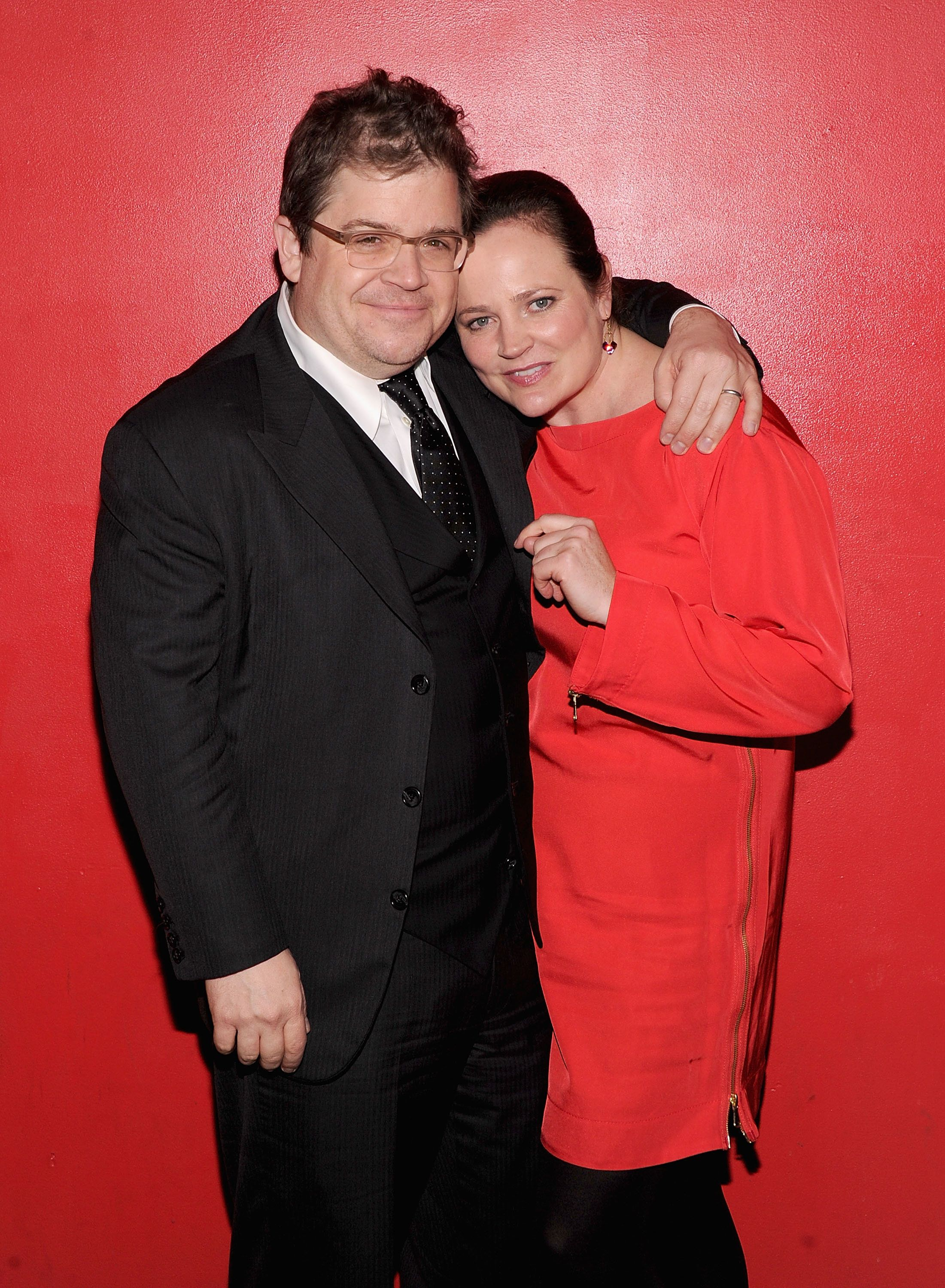 NEW YORK, NY - DECEMBER 08:  Patton Oswalt and Michelle McNamara attend the 'Young Adult' world premiere after party at the Hudson Terrace on December 8, 2011 in New York City.  (Photo by Jamie McCarthy/Getty Images)